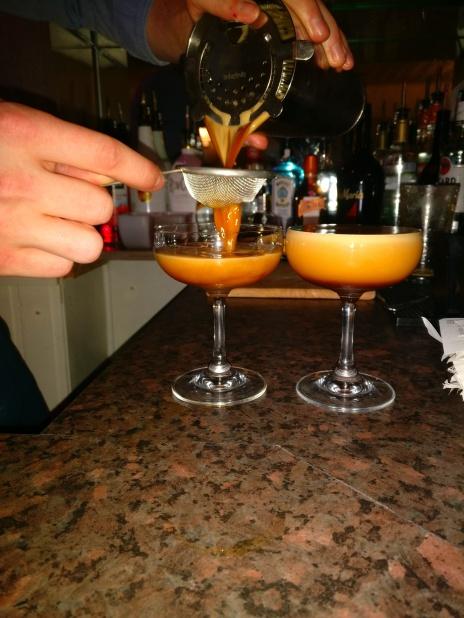 Espresso Martinis in the making