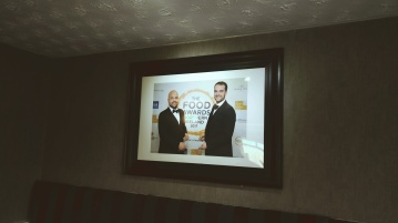 Brothers, Matthew and Luke at The Food Awards NI